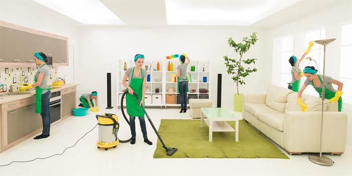 Commercial cleaning services in Manchester and Bedford.